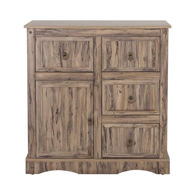 Simplicity Storage Cabinet with 1 Door & 4 Drawers