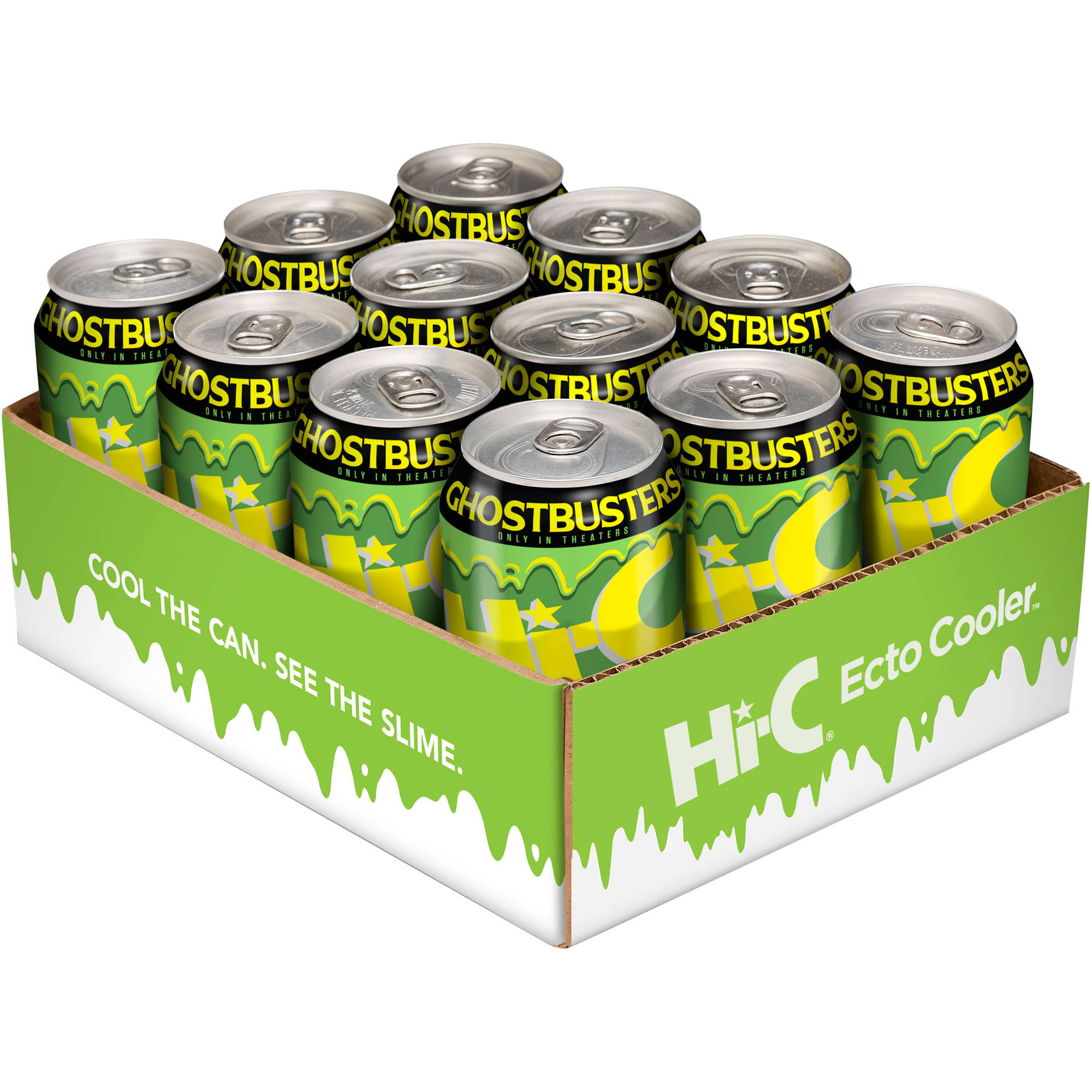 Hi-C Ecto Cooler Citrus Drink, 11.5 fl oz, 12 pack