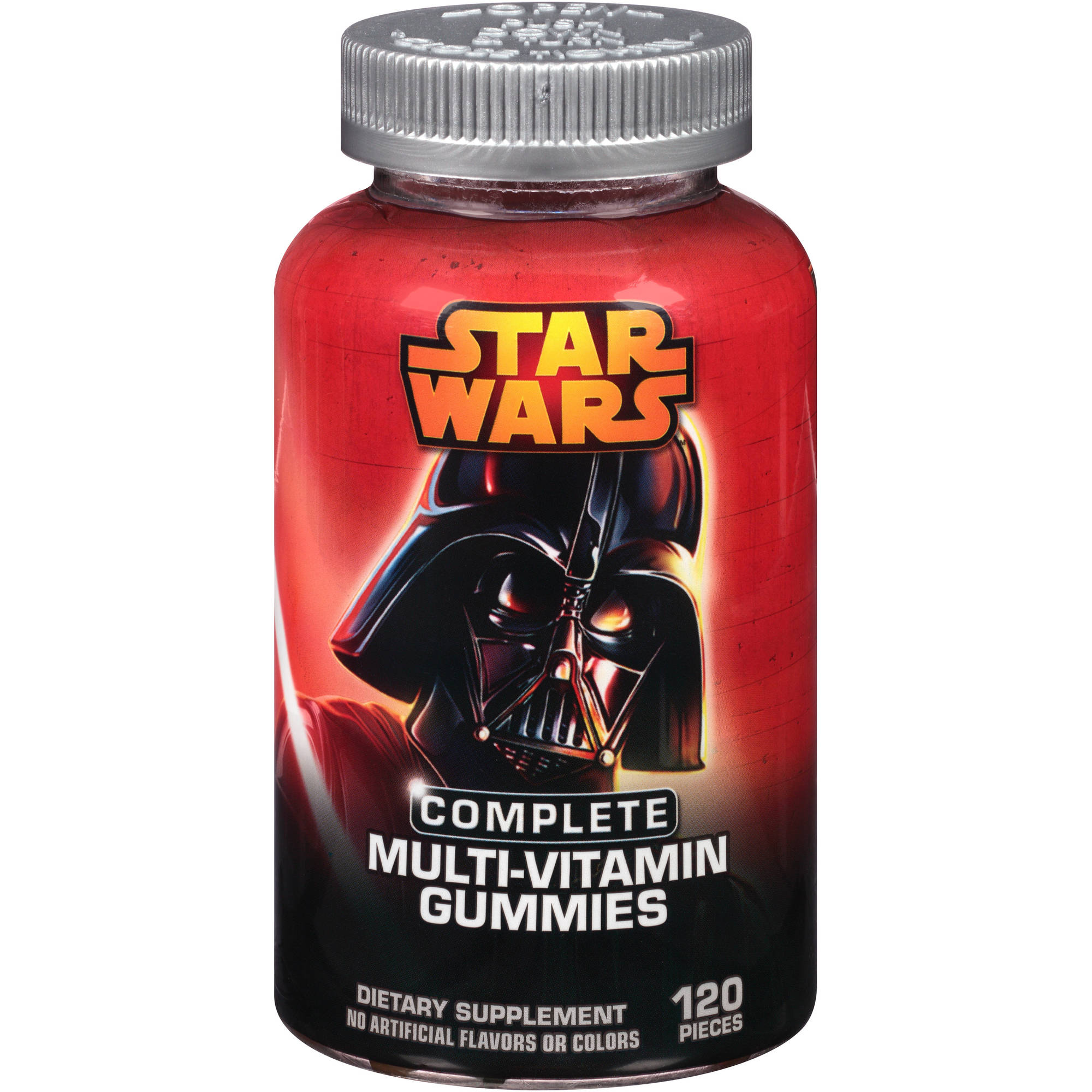 Star Wars Complete Multi-Vitamin Gummies Dietary Supplement, 120 count