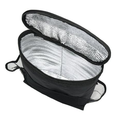 Car Seat Auto Back Ice Pack Bag Organizer Multi Pocket Travel Storage Bag Cooler Bags Admission Cloth Compact Vehicle Item Storage Holder Backseat Organizers - image 2 de 7