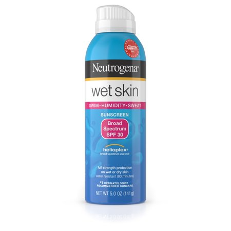 Neutrogena Wet Skin Sunscreen Spray Broad Spectrum SPF 30, 5