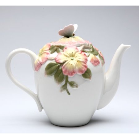 Cosmos Gifts Apple Blossom 0.625 qt. Ceramic - 0.625 Ceramic