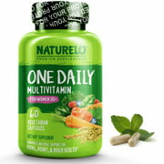 One Daily Multivitamin for Women 50+ (Iron Free) 60 Capsules | 2 Month Supply