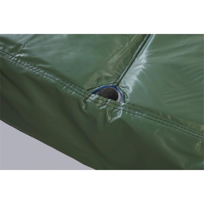 Bazoongi PAD14JP4-10G 14 ft. Safety Pad for 4 Poles 10 in. Wide, Green