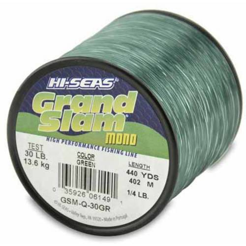 American Fishing Wire Grand Slam Mono, 30-Pound Spool, Green