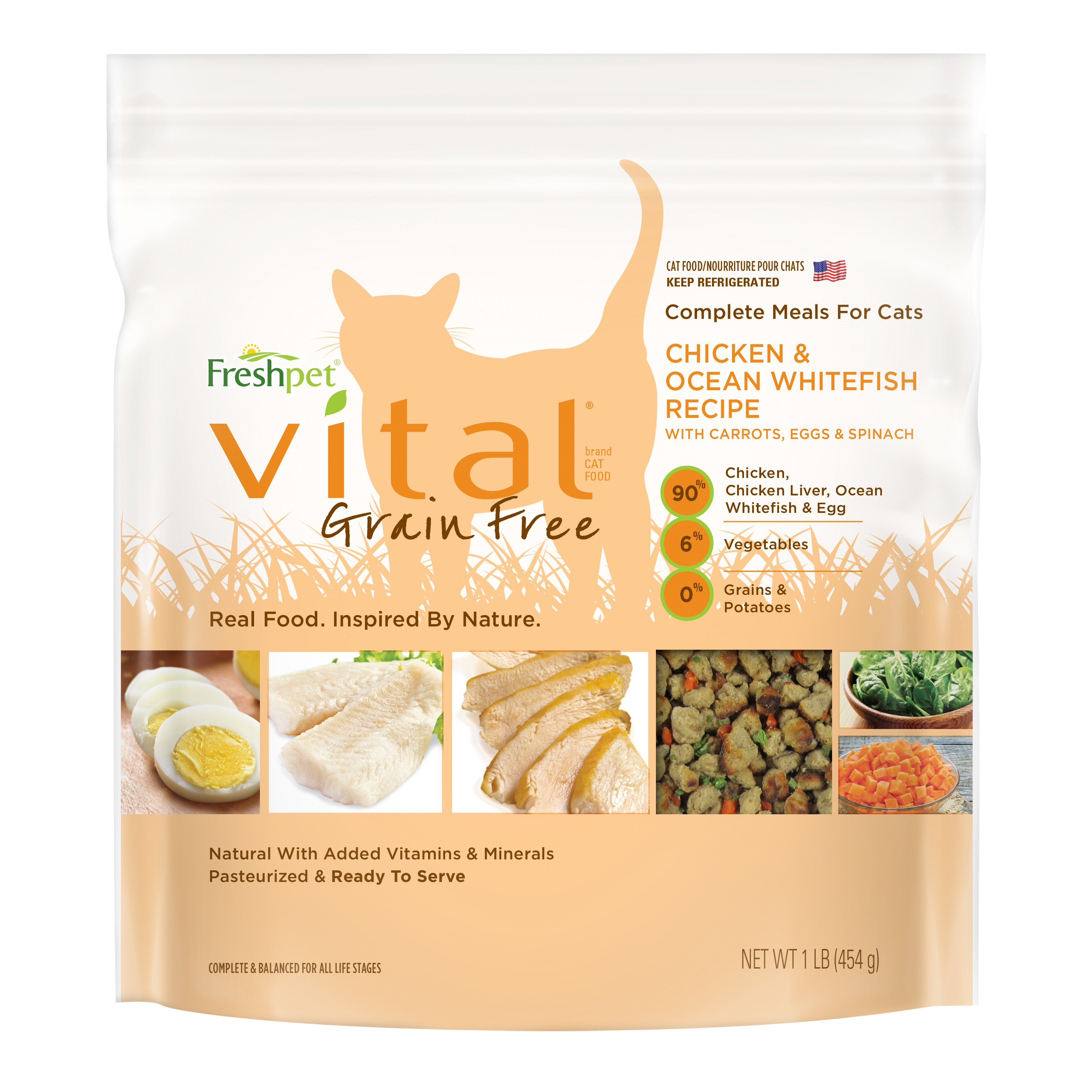 Freshpet vital grain free complete meals for cats 1 lb walmart forumfinder Image collections