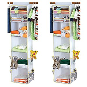 Dex Baby Closet Cubby Organizer, Set of 2