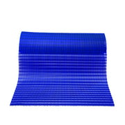 Mats Inc. Barepath Anti-Slip Wet Area Mat, Oxford Blue, 3' x 10'