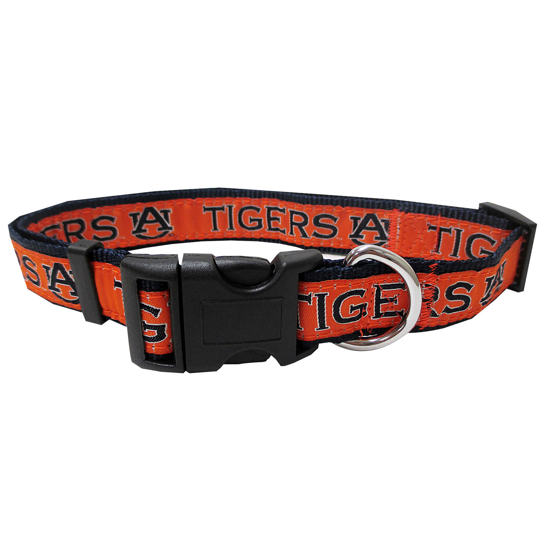 Auburn University Nylon Adjustable Dog Collar