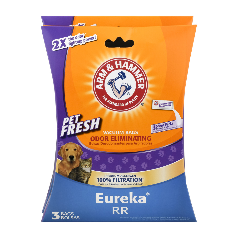 Arm & Hammer Odor Eliminating Vacuum Bags Eureka RR - 6 CT