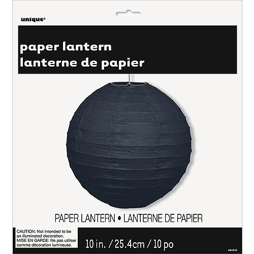 "10"" Solid Color Paper Lantern"