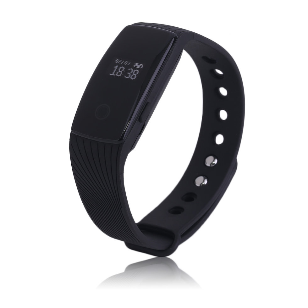 ID107 0.49 Inch Sport Sleep Monitor Smart Wristband For Android
