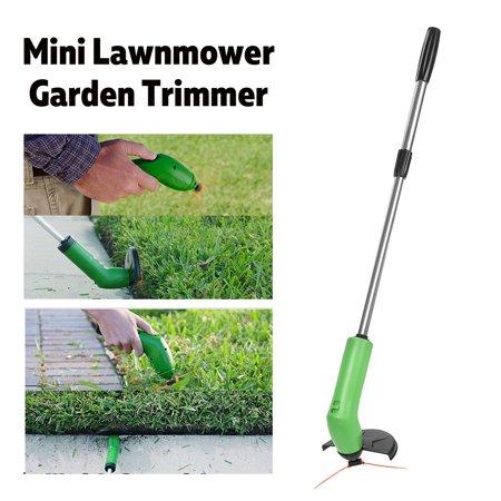 Cordless Electric String Trimmer Garden Zip Trim Lawn Mower