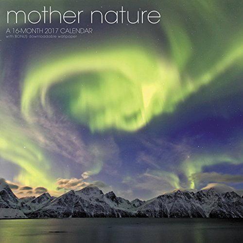 Mother Nature Wall Calendar (2017)