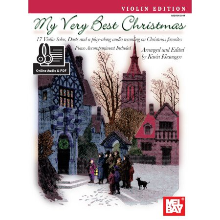 My Very Best Christmas, Violin Edition - eBook