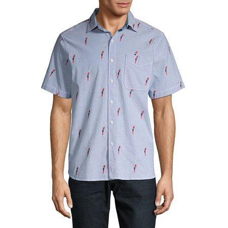 Parrot Mamba Camp Shirt Patchwork Camp Shirt