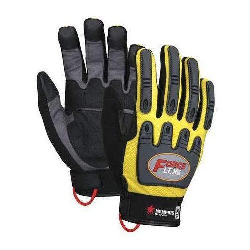 Memphis Glove Size M Leather Palm Gloves,Y200M