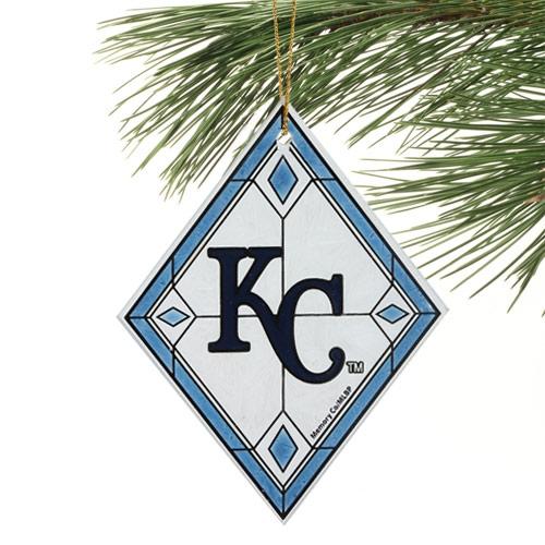 Kansas City Royals Art Glass Ornament - No Size