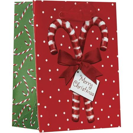 Jillson & Roberts Tiny Gift Bags, Candy Christmas (12 Pcs)](Tiny Gift Bags)