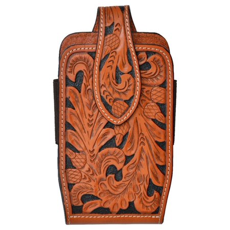 3D Western Cell Phone Case Leather Smartphone Acorn Natural PH656