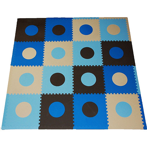 Seed Sprout - Playmat Set, Blue and Brown