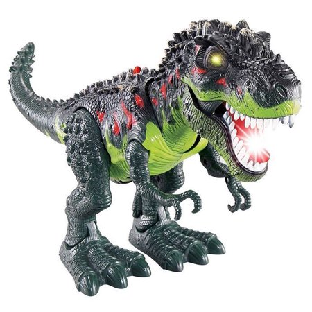 LWS LA Wholesale Store  Light Up T-Rex Walking Dinosaur Kids LED Toy Figure With Sounds Real Movement (Wholesale Kids Accessories)