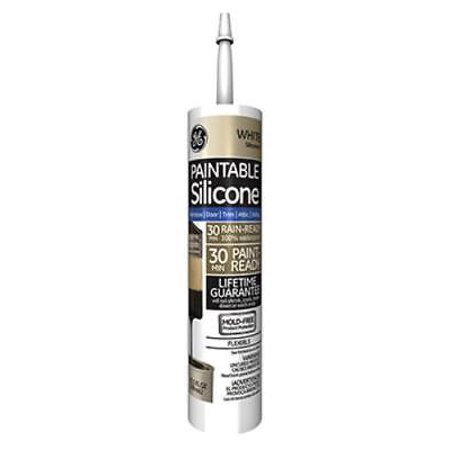 Silicone 11 10 1 OZ White XST Paintable Caulk For Indoor and Outd Only One