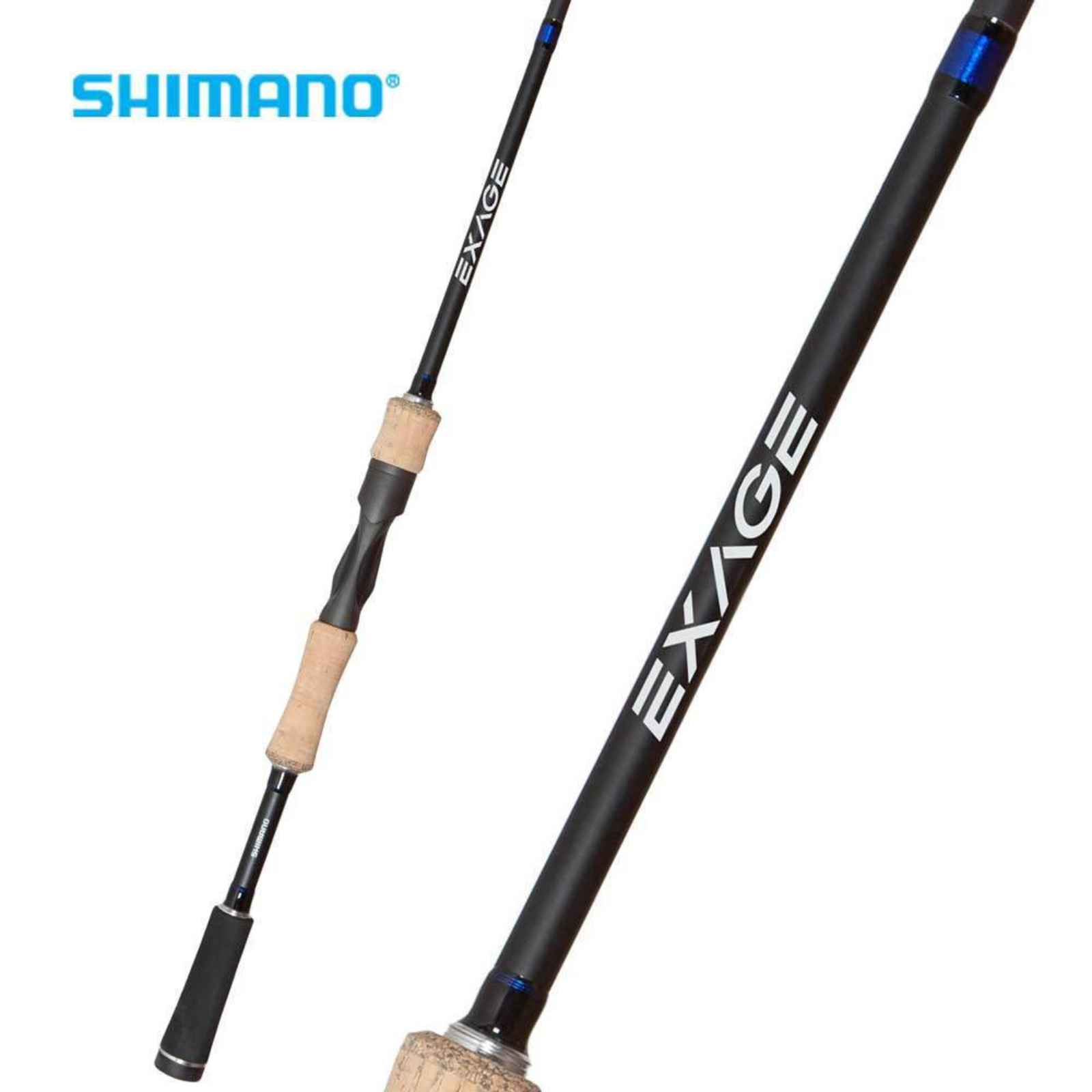 "Shimano Exage Spinning Rod 7'0"" Medium 1pc, XAS70M"