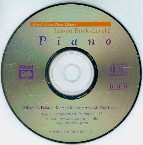 Alfred's Basic Piano Library Lesson Book, Level 2