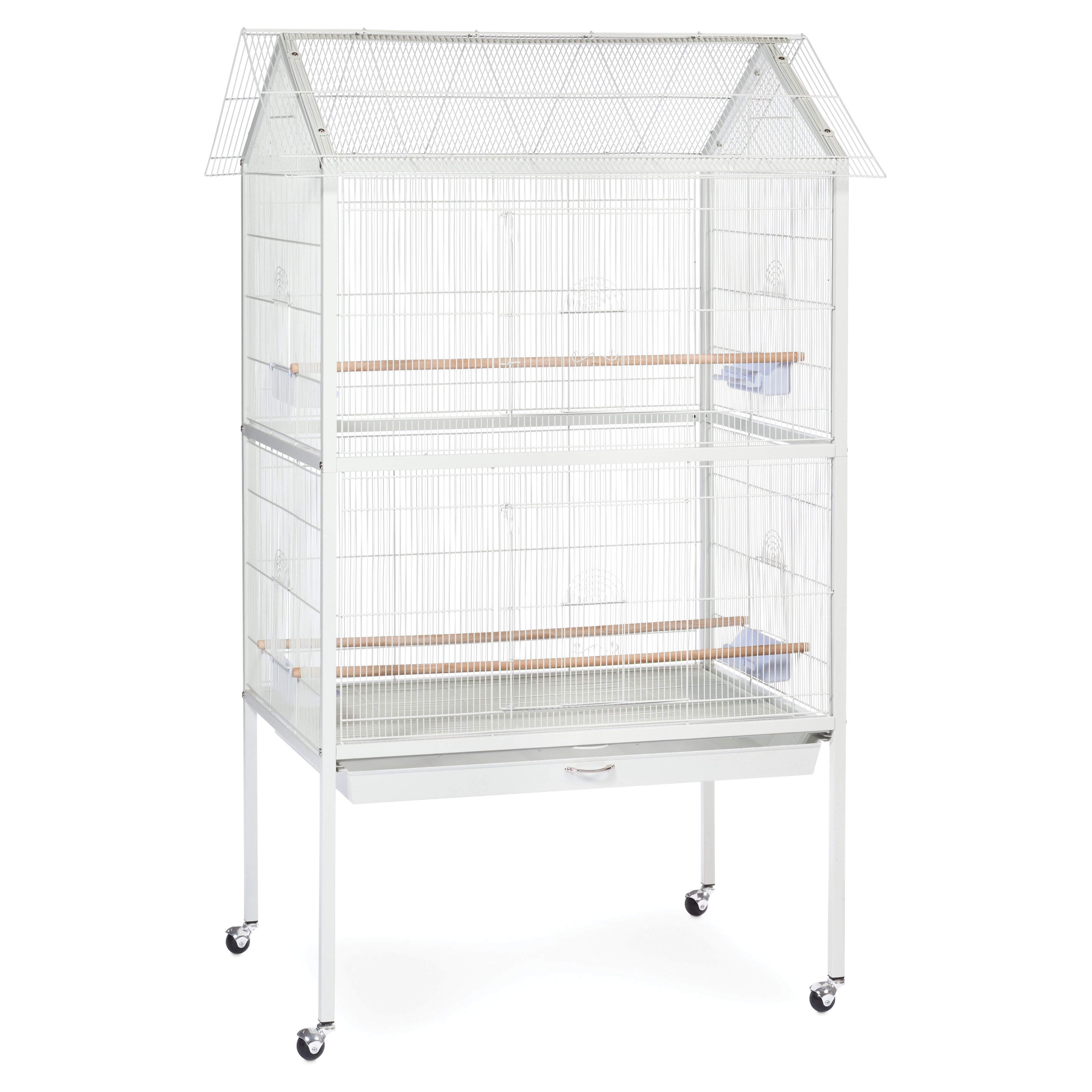 Prevue Pet Products White Aviary Flight Cage with Stand - F030