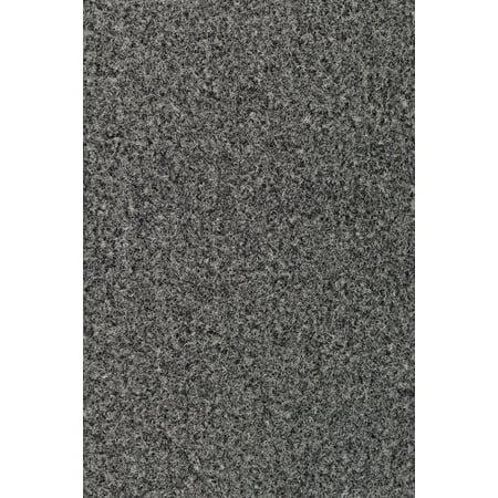 Galaxy Way Kids Favorite Grey Color Oversize 10'x43' Area Rug with Rubber Marine Backing for Patio, Porch, Deck, Boat, Basement or Garage with Premium Bound Polyester Edges