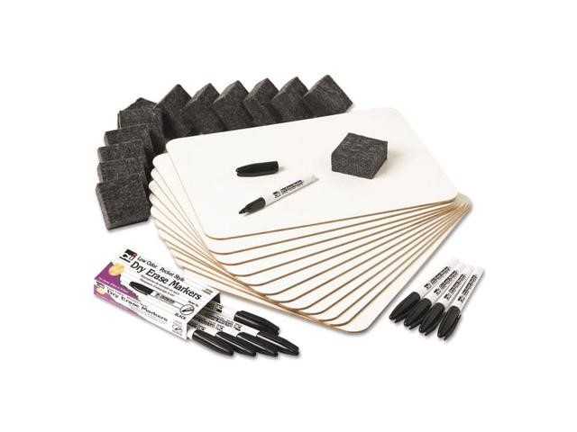 Charles Leonard Dry Erase Lapboard Class Pack includes 12 Each: One Sided- Plain, White Dry Erase Boards,... by Charles Leonard Inc.