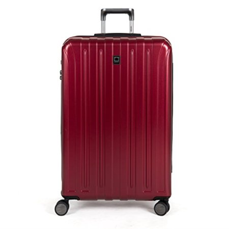 Delsey Briefcase - delsey luggage helium titanium 29 inch exp spinner trolley red, black cherry, one size