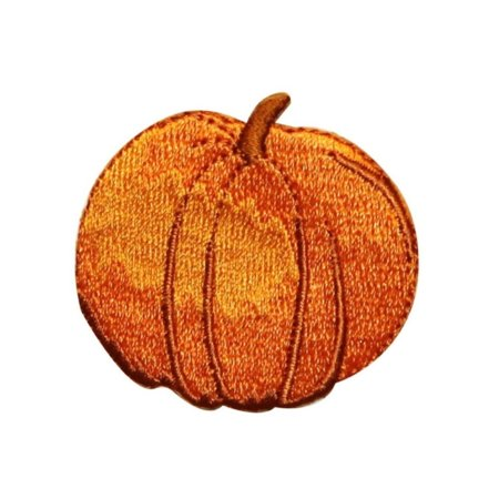 ID 0799B Perfect Pumpkin Patch Halloween Harvest Embroidered Iron On Applique - Iron On Halloween Appliques