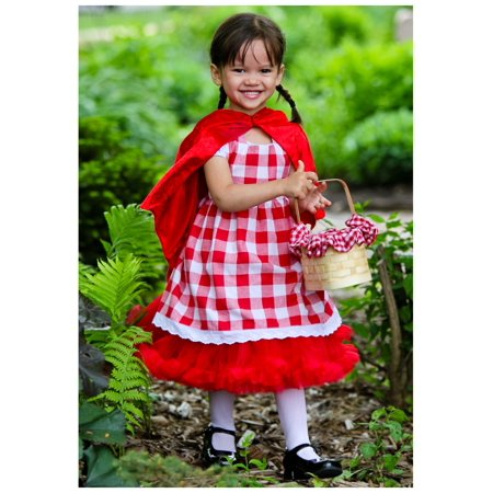 Toddler Red Riding Hood Tutu Costume - Make Your Own Red Riding Hood Costume