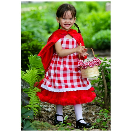Toddler Red Riding Hood Tutu Costume (Toddler Tutu Costume)
