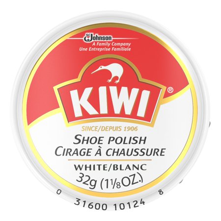 KIWI SHOE POLISH WHITE ~