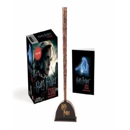 Harry Potter Hermiones Wand With Sticker Kit  Lights Up