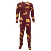 Minnesota Golden Gophers Footie Pajamas Union Suit
