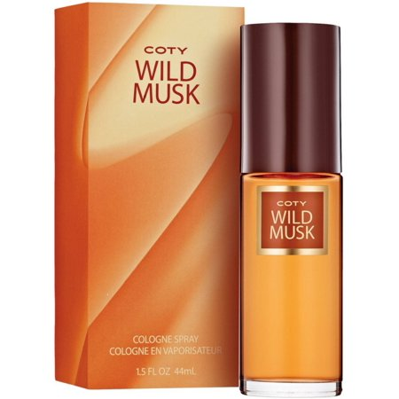 2 Pack - Wild Musk By Coty Cologne Spray for Women 1.50 oz - Party Cotu