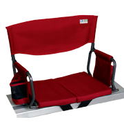 RIO Gear Bleacher Boss Compact Stadium Seat - Red