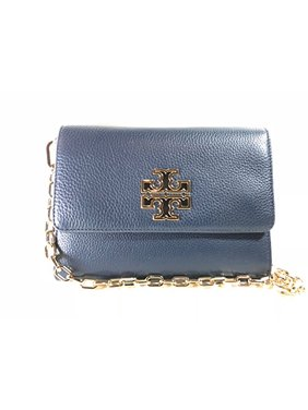 4874293eb1f Product Image Tory Burch Britten Chain Wallet Women s Small Leather Handbag  (Hudson ...