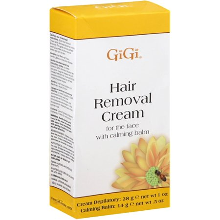 2 Pack - GiGi Hair Removal Cream with Calming Balm For Bikini & Legs 1