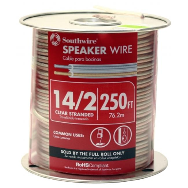Southwire Company 250ft. 14-2 Speaker Wire  56650844 - Pack of 250