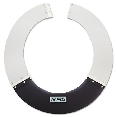 MSA V-Gard Sun Shield for V-Gard and Topgard Hard Hats, Smoke