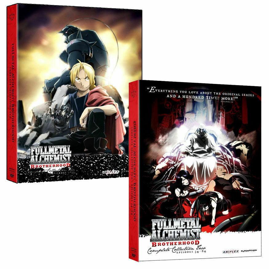 Fullmetal Alchemist : Brotherhood - Complete Series DVD ...