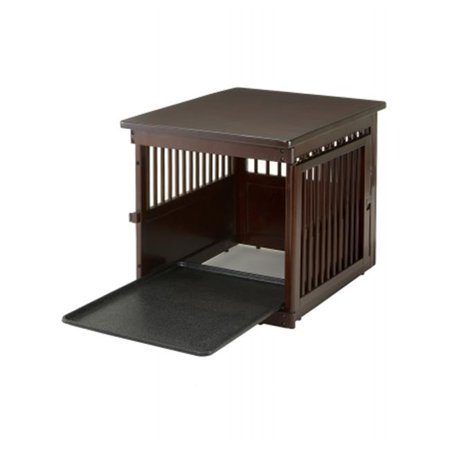 Richell 94916 wooden end table crate medium for Wooden crate end table