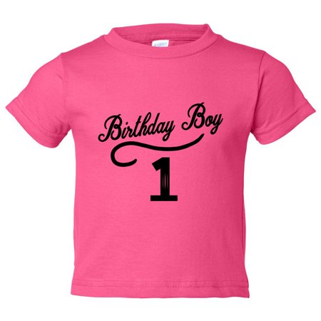 Boys 1 Year Old Birthday Boy Toddler Shirt