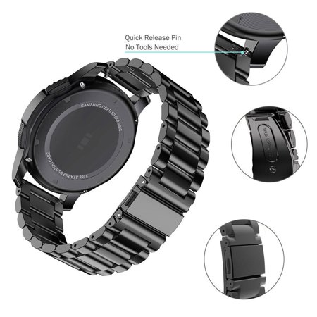 Classic Stainless Steel Link Strap Watch Band  for Samsung Gear S3 Frontier S3 New - image 2 of 5