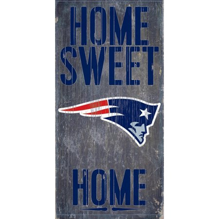 Fan Creations New England Patriots Wood Sign - Home Sweet Home 6